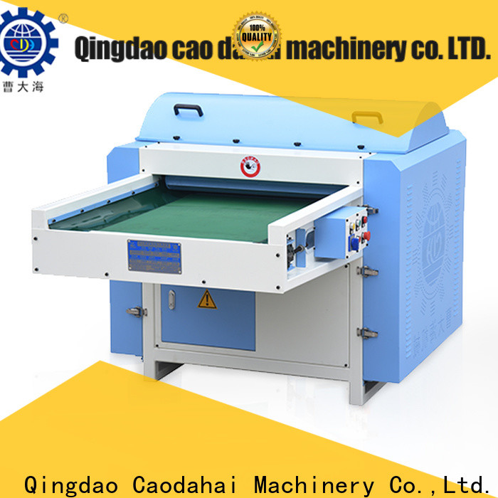 Caodahai efficient polyester fiber opening machine with good price for manufacturing