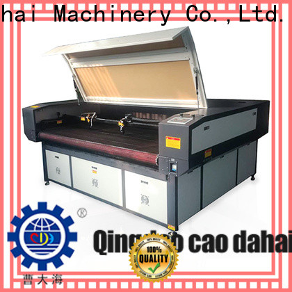 Caodahai hot selling co2 laser cutting machine from China for soft toy
