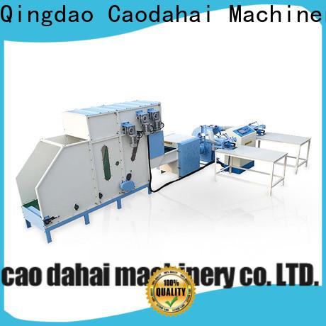 Caodahai professional pillow filling machine supplier for production line