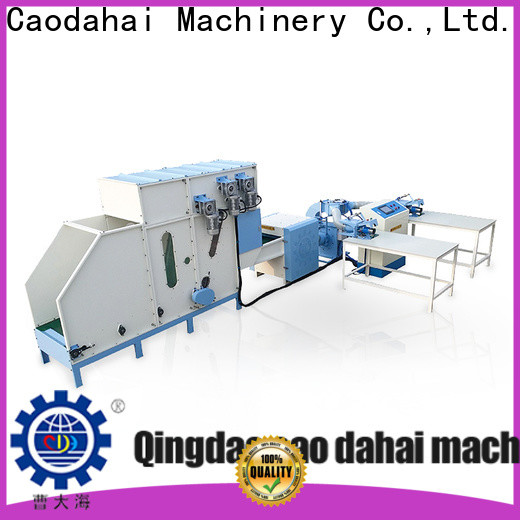 Caodahai stable pillow filling machine supplier for production line