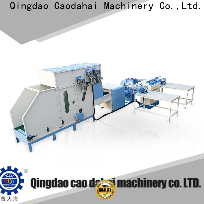 Caodahai certificated pillow machine personalized for work shop