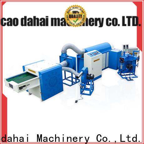 Caodahai excellent fiber ball pillow filling machine design for plant