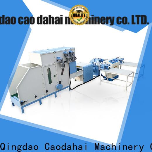 Caodahai quality automatic pillow filling machine wholesale for production line