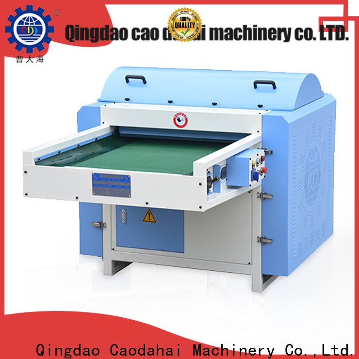 approved polyester fiber opening machine design for industrial