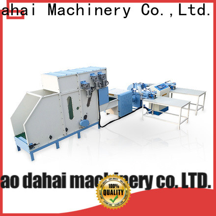 Caodahai certificated automatic pillow filling machine factory price for production line