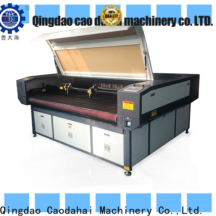 Caodahai quality acrylic laser cutting machine from China for soft toy