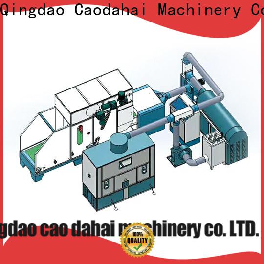 Caodahai fiber ball pillow filling machine design for work shop