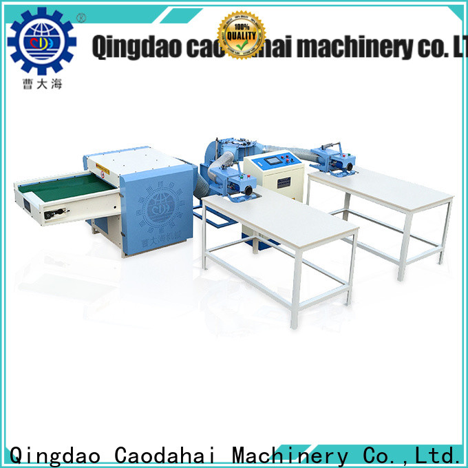 sturdy fiber opening and pillow filling machine personalized for work shop