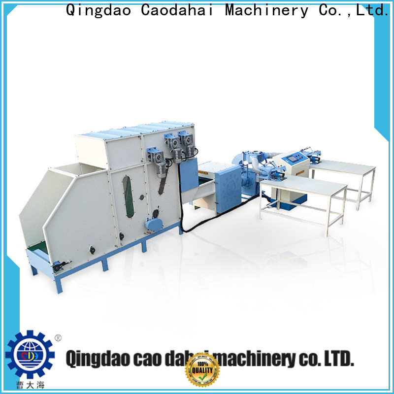 sturdy pillow filling machine wholesale for work shop