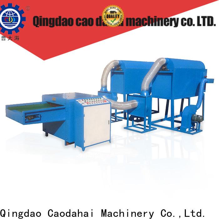 top quality fiber ball pillow filling machine factory for work shop