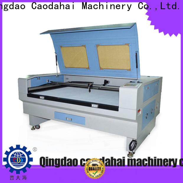 Caodahai acrylic laser cutting machine directly sale for soft toy