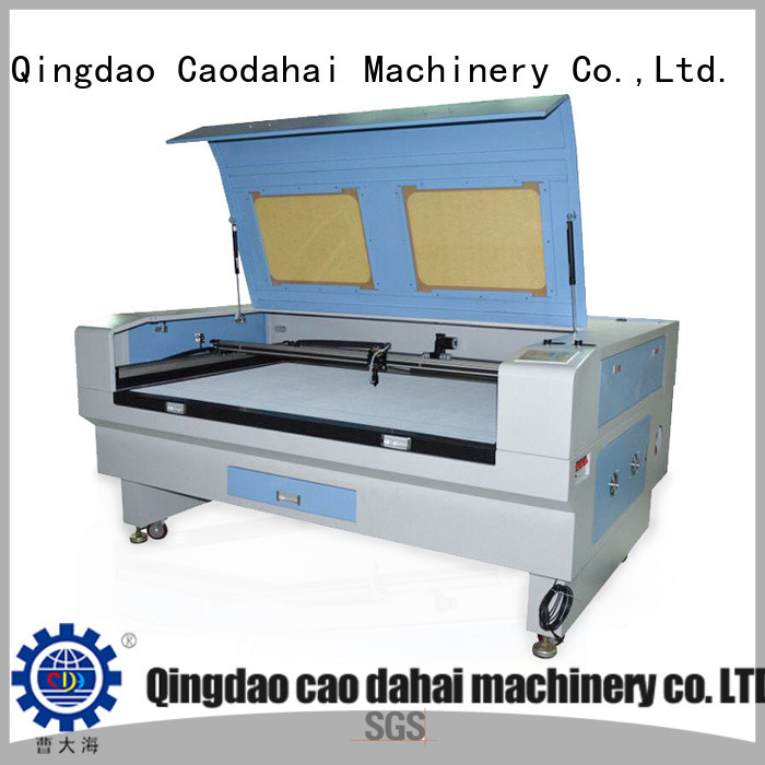 Caodahai fabric laser cutting machine customized for work shop