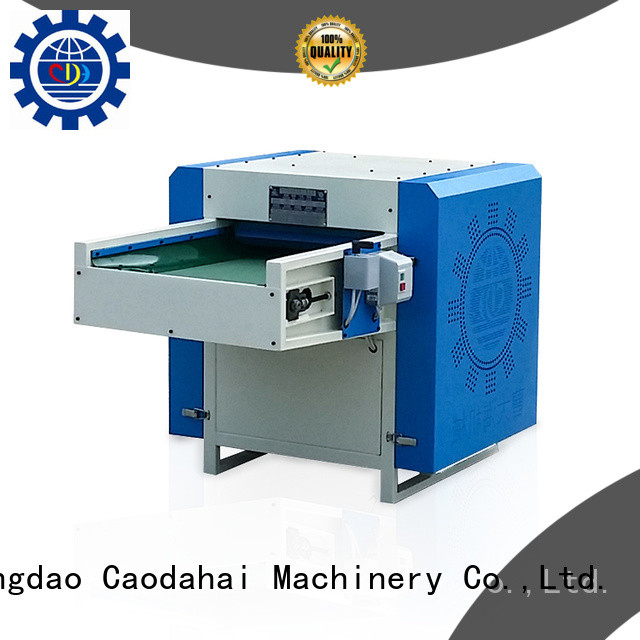 Caodahai approved polyester fiber opening machine factory for industrial