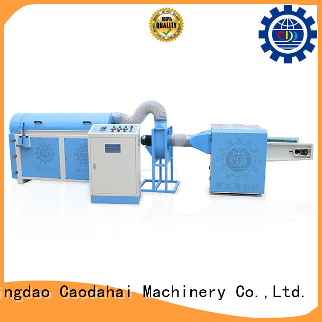 Caodahai top quality ball fiber stuffing machine factory for plant