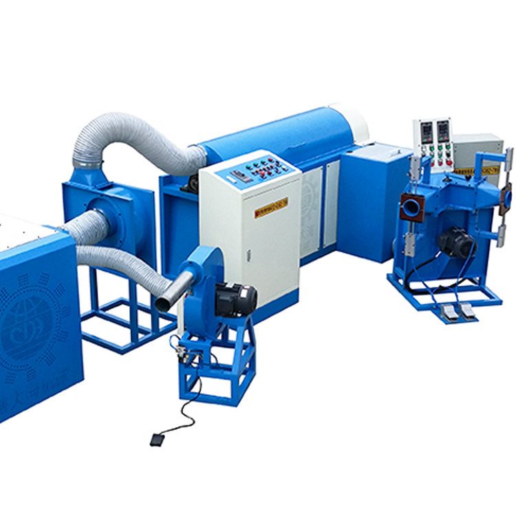 automatic fiber ball pillow filling machine with good price for plant-1