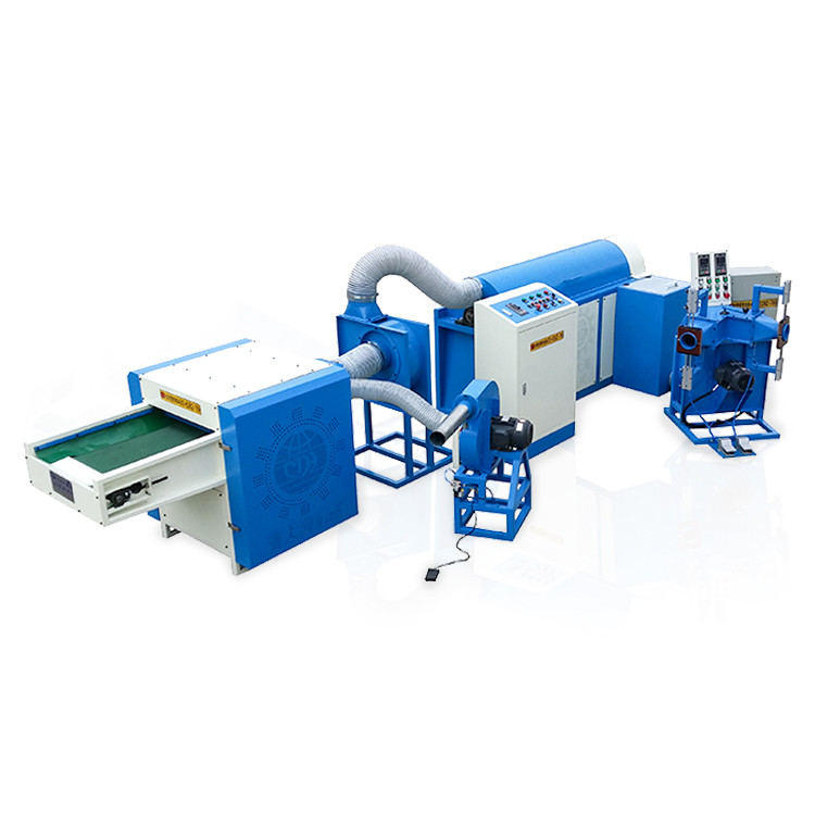 Ball fiber filling machine