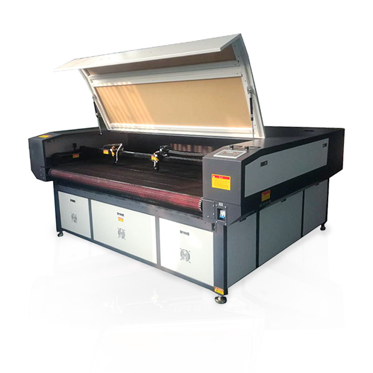 Industrial fabric laser cutting machine