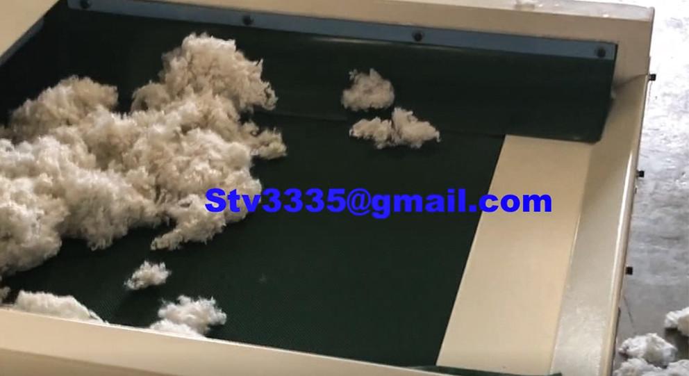 Ball  fiber making machine
