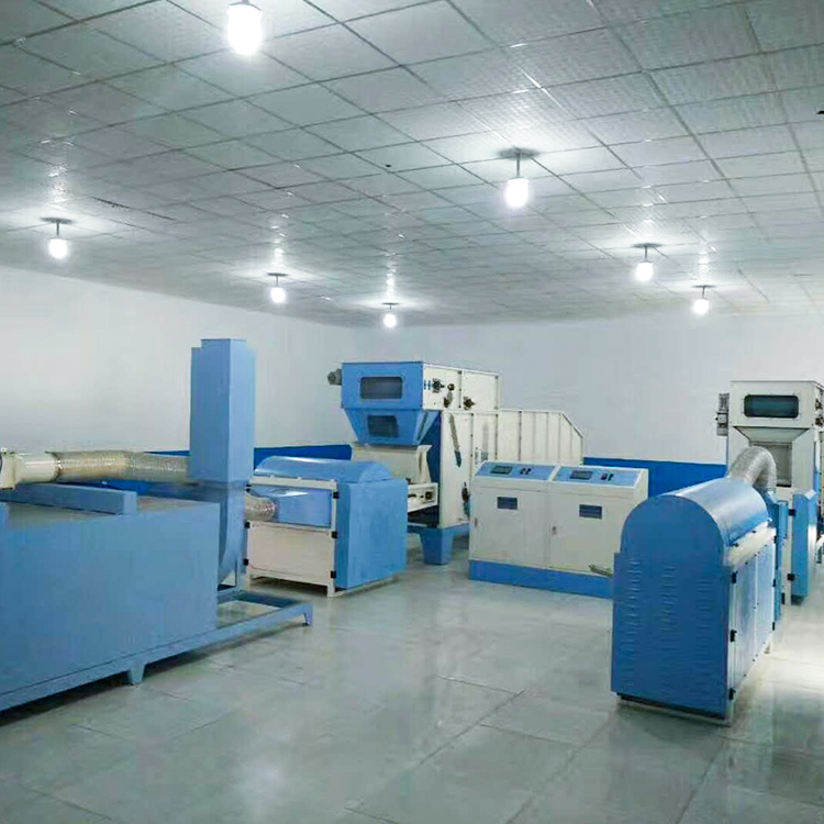 approved ball fiber filling machine with good price for work shop-1