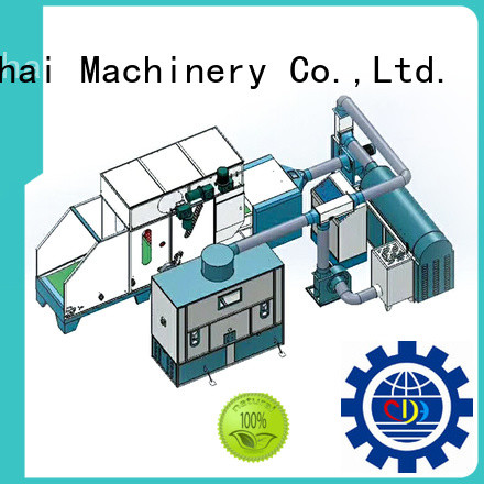 approved fiber ball pillow filling machine design for work shop