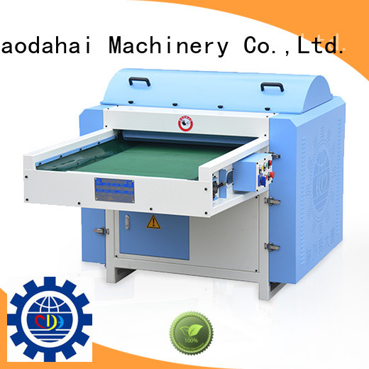 polyester opening machine design for industrial