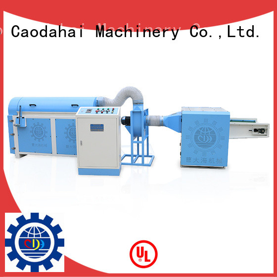 Caodahai ball fiber stuffing machine with good price for work shop