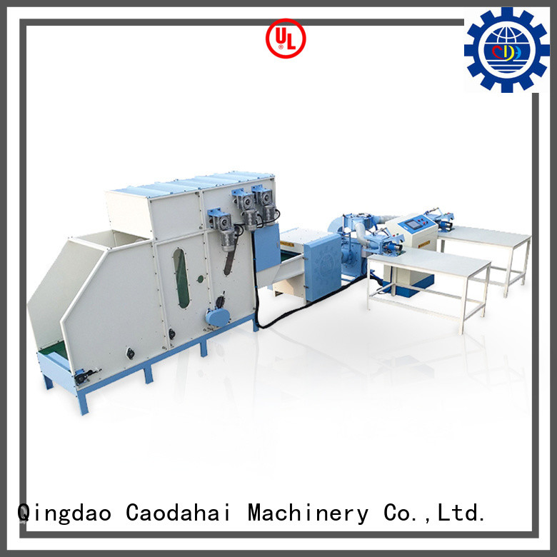 Caodahai sturdy pillow stuffing machine personalized for plant