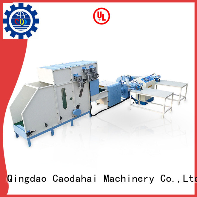 Caodahai stable pillow filling machine price wholesale for plant