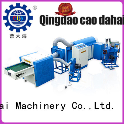 approved ball fiber stuffing machine factory for work shop