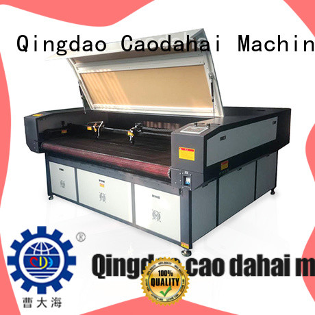 Caodahai reliable fabric laser cutting machine from China for soft toy