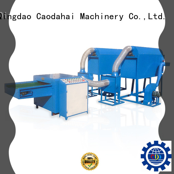 Caodahai approved fiber ball pillow filling machine inquire now for production line