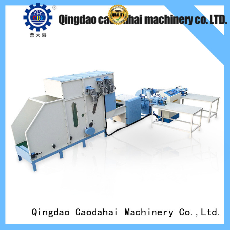 Caodahai certificated pillow making machine personalized for production line
