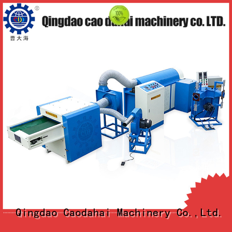 Caodahai fiber ball pillow filling machine with good price for production line