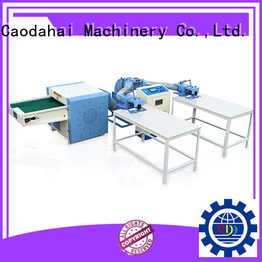 Caodahai stable fiber opening and pillow filling machine wholesale for business