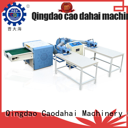 fiber opening and pillow filling machine for work shop Caodahai