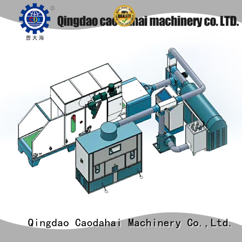 approved fiber ball pillow filling machine factory for production line