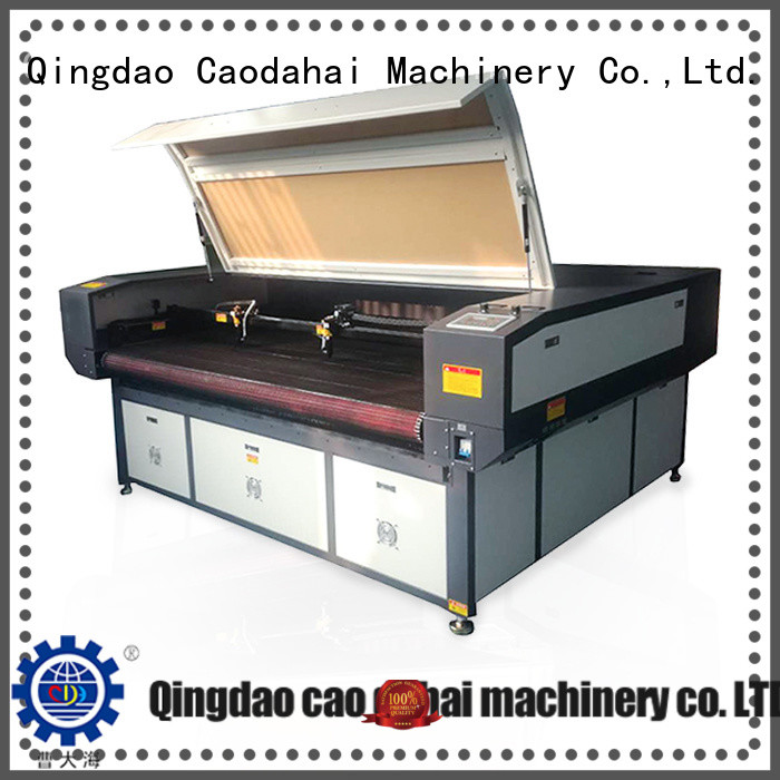 hot selling fabric laser cutting machine directly sale for plant