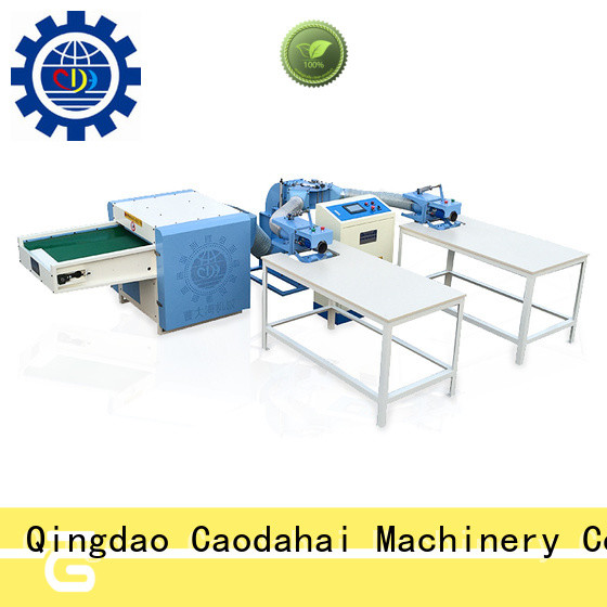 Caodahai professional fiber opening and pillow filling machine wholesale for work shop