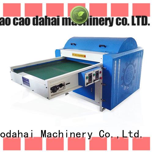 fiber opening machine design for manufacturing