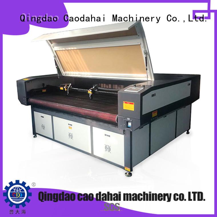 Industrial fabric laser cutting machine