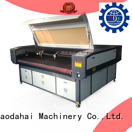 hot selling industrial cnc laser cutting machine customized for soft toy