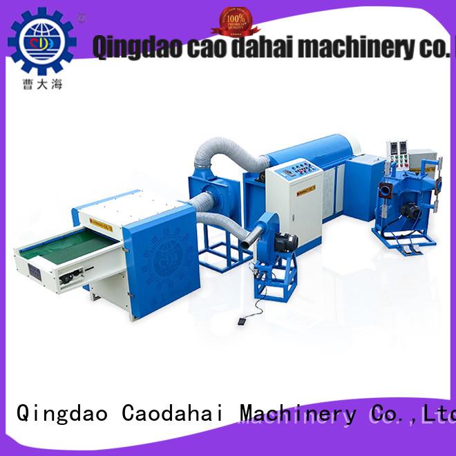 Caodahai efficient ball fiber making machine design for production line
