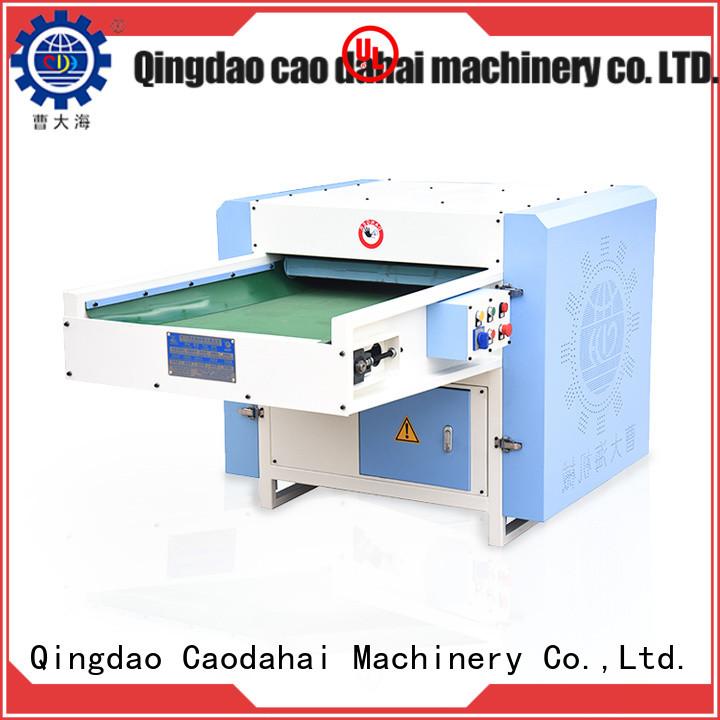 Caodahai efficient polyester fiber opening machine design for industrial