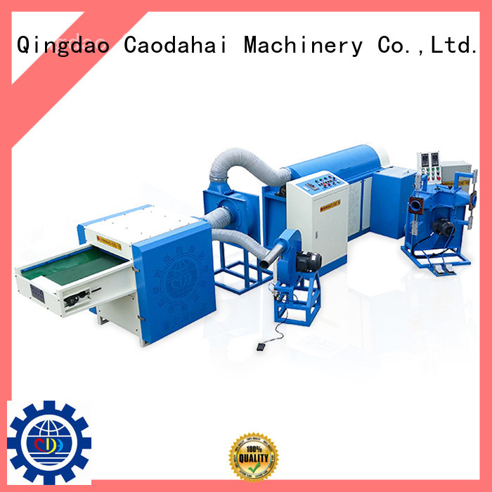Caodahai ball fiber filling machine design for production line