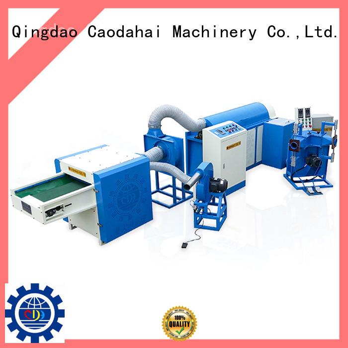Caodahai ball fiber filling machine design for production line