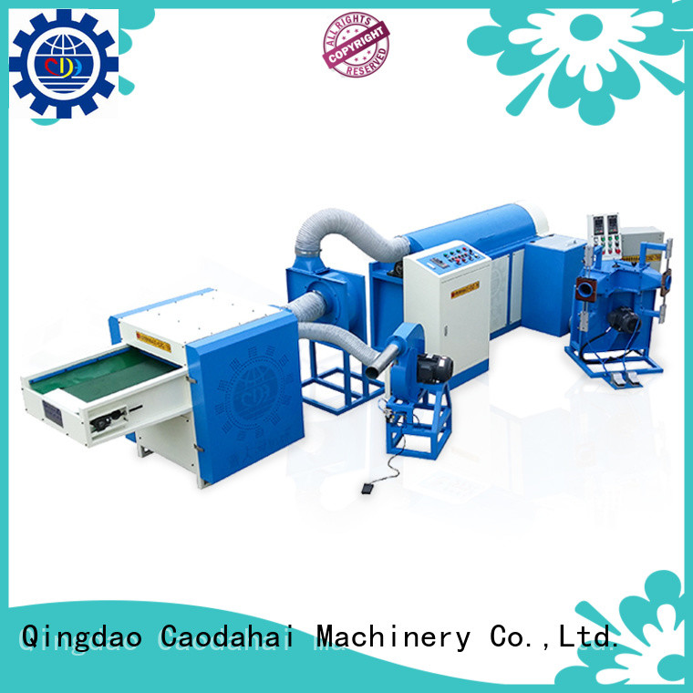 Caodahai approved ball fiber machine design for plant