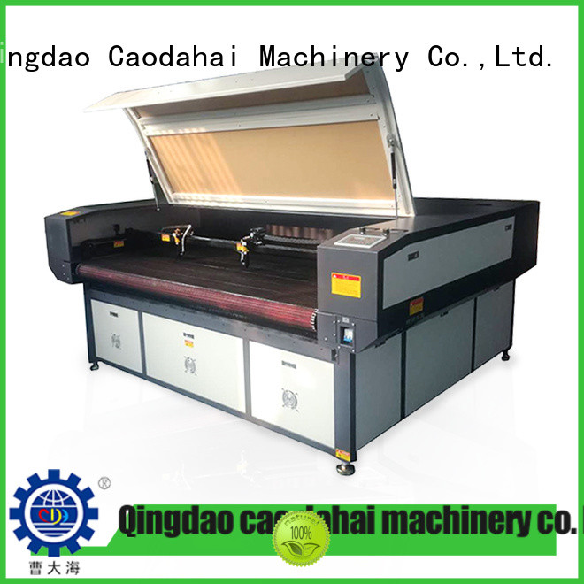 Caodahai hot selling fiber laser machine manufacturer for soft toy