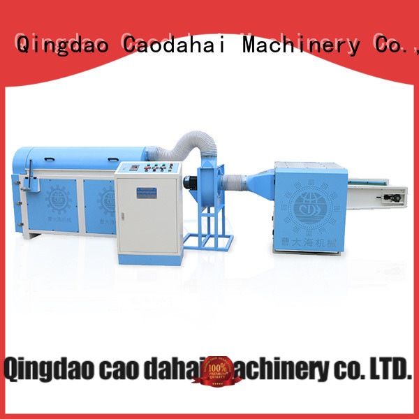 Caodahai top quality fiber ball pillow filling machine with good price for business
