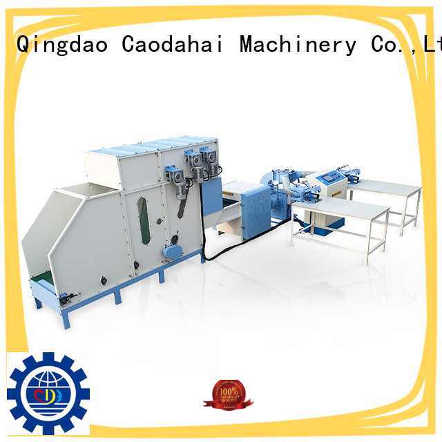Caodahai stable pillow filling machine price factory price for plant