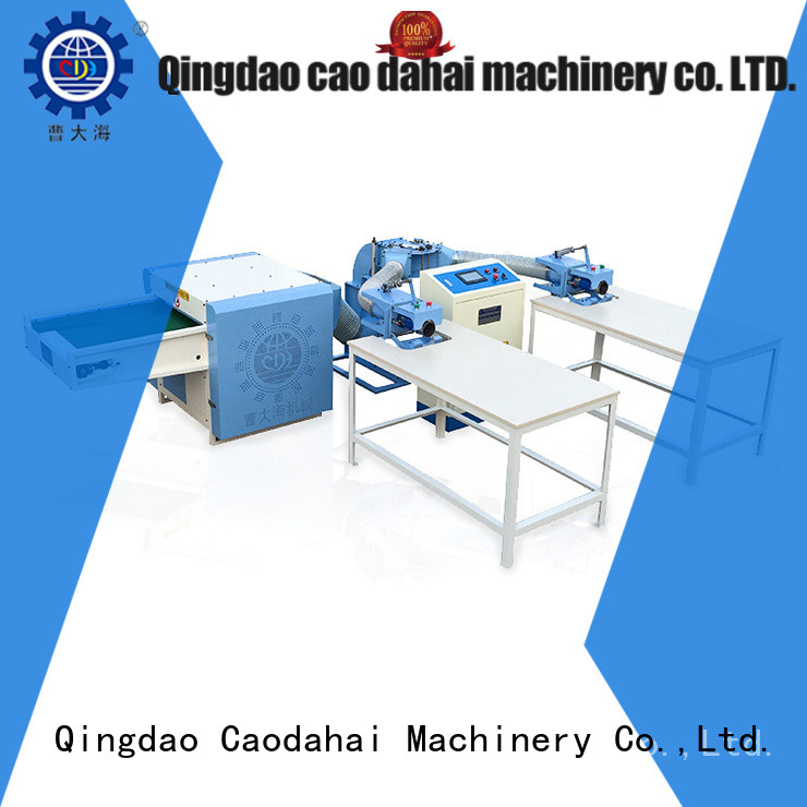 Caodahai quality pillow filling machine price supplier for plant